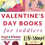 Books for toddlers to celebrate Valentine's Day