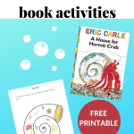 book activities for A House for Hermit Crab by Eric Carle