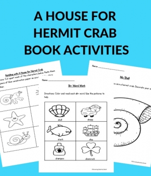 A House for Hermit Crab printable activities