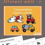 transportation lesson plans
