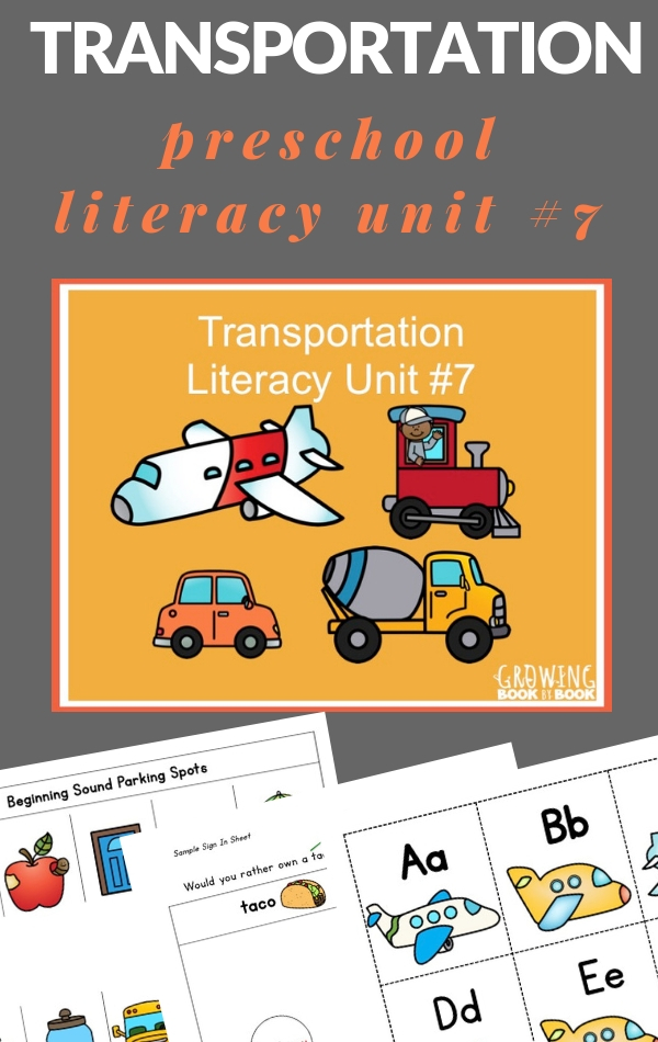 transportation lesson plans