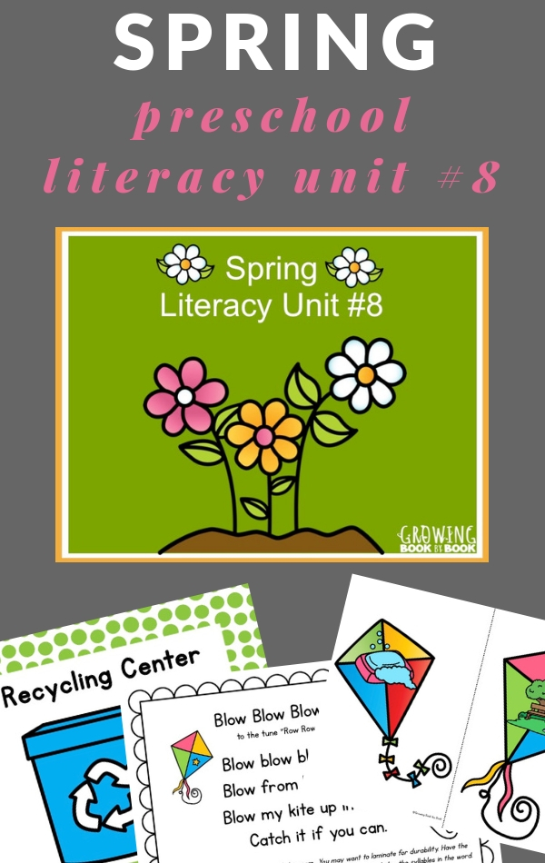 spring lesson plans for preschoolers