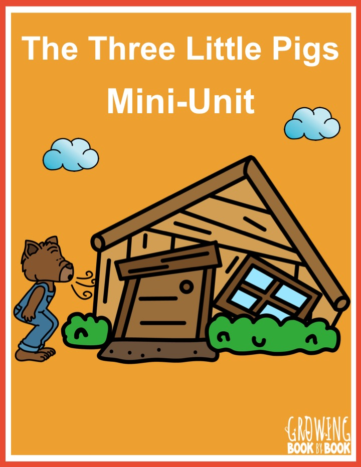 a printable packet of The Three Little Pigs activities
