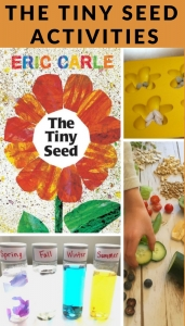 activities to do with the Eric Carle book, The Tiny Seed.