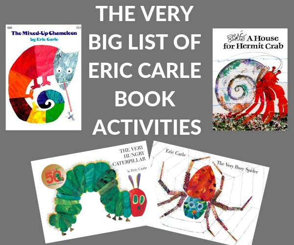 lots of Eric Carle activities