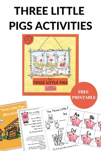 Activities to go with the Three Little Pigs.