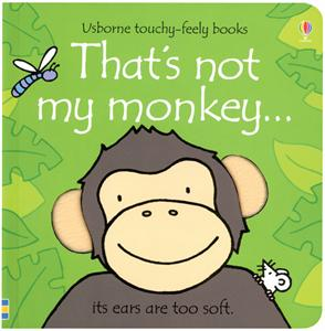 That's Not My Monkey book by Usborne