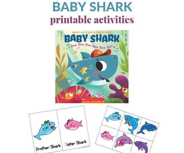 baby shark activity
