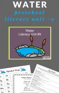 water activities for preschoolers
