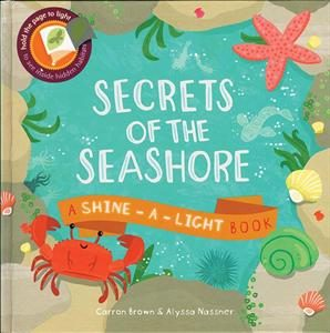 Secrets of the Seashore: Shine-A-Light-Book by Usborne