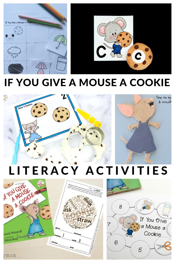 If You Give a Mouse a Cookie Activities that build literacy skills including printables.