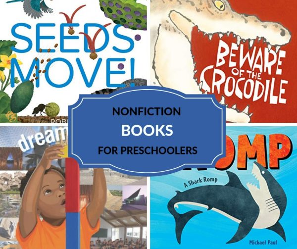 informational nonfiction books for children especially preschoolers