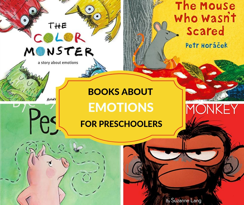 books about emotions for preschoolers
