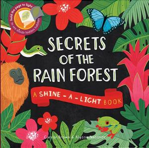 picture of book cover of Secrets of the Rainsforest
