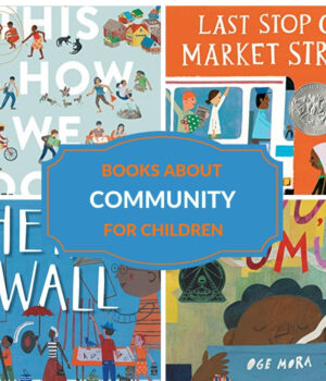 books for kids about community