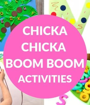 ALPHABET ACTIVITIES TO GO WITH CHICKA CHICKA BOOM BOOM