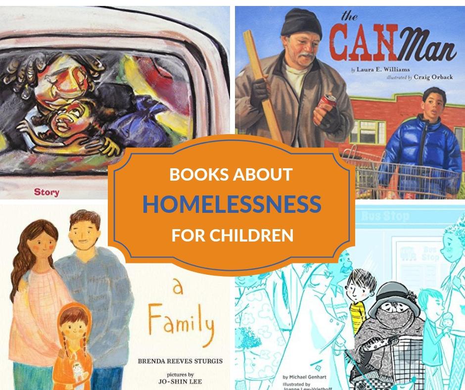 book images of homeless books for children