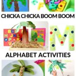 alphabet activities to go with the book Chicka Chicka Boom Boom