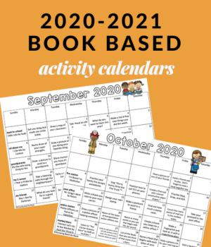 20-21 homework calendars