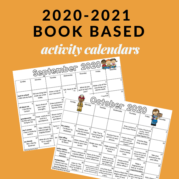 Make homework meaningful with these book activity calendars. Perfect for encouraging family literacy.