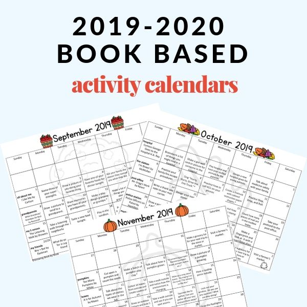 A Year of Books and Activities for a New School Year