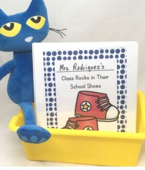make a class book inspired by Pete the Cat