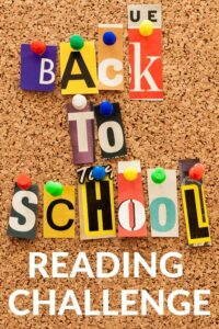 READING CHALLENGE IDEA FOR BACK TO SCHOOL TIME