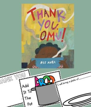 Thank You, Omu! book activity ideas