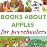 big list of apple books for preschoolers