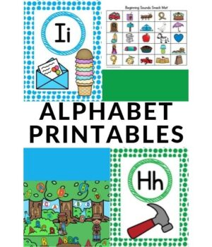 alphabet printables for preschoolers