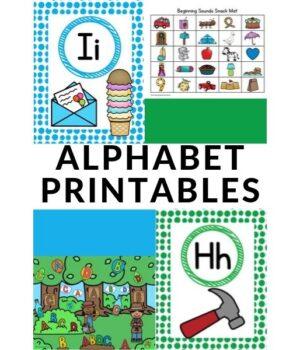alphabet printables for preschoolers