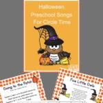 printable preschool songs for Halloween