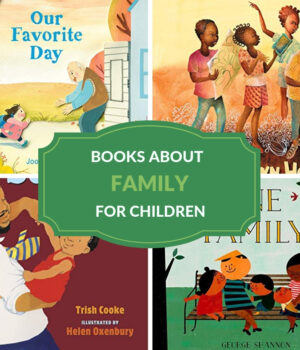 family books for children