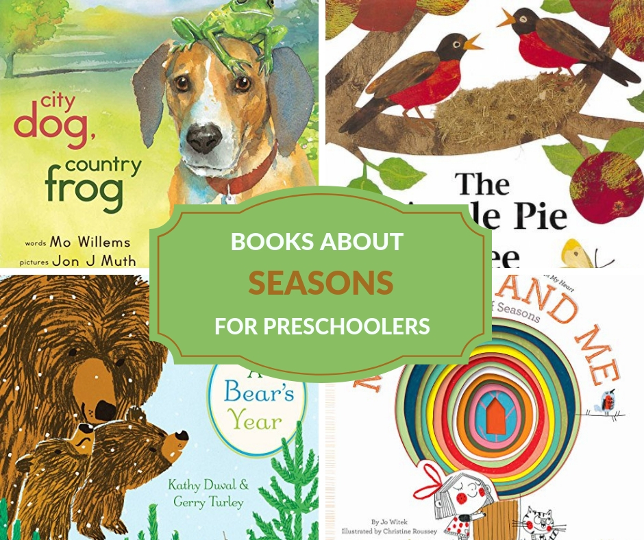 exploring the seasons with preschoolers books
