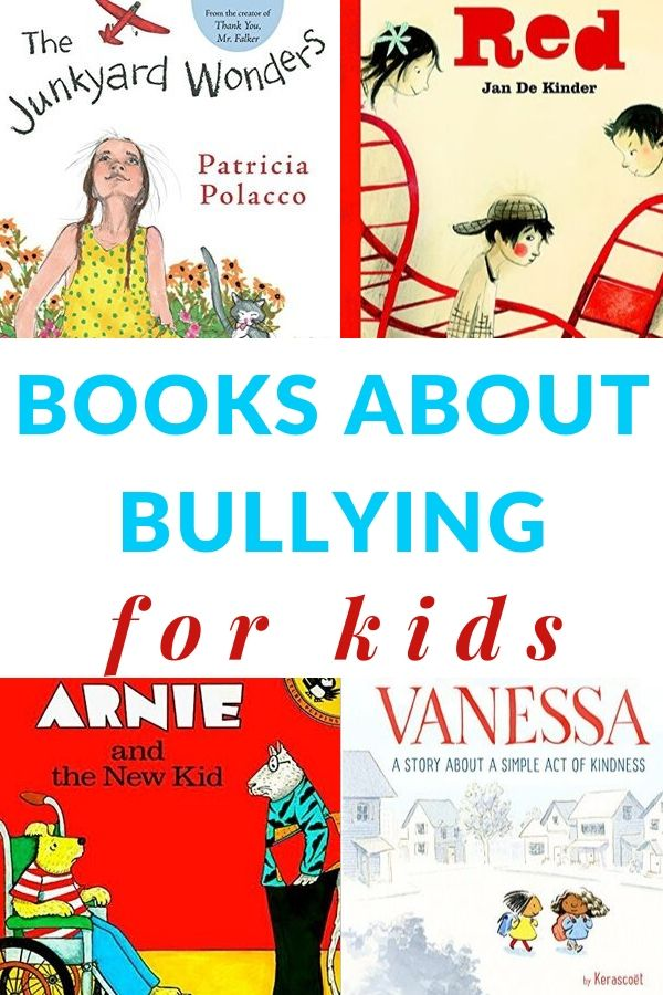 children's picture books about bullying