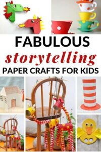 paper crafts to go with children's books