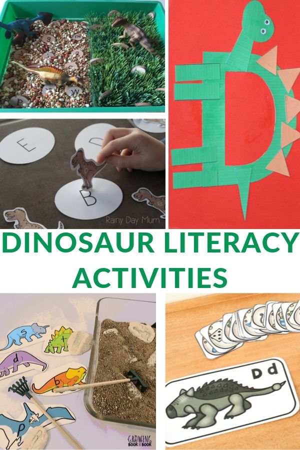 LITERACY IDEAS USING DINOSAURS