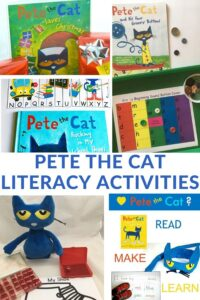 book activities for Pete the Cat