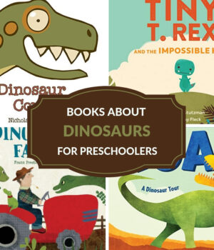 preschool books about dinosaurs