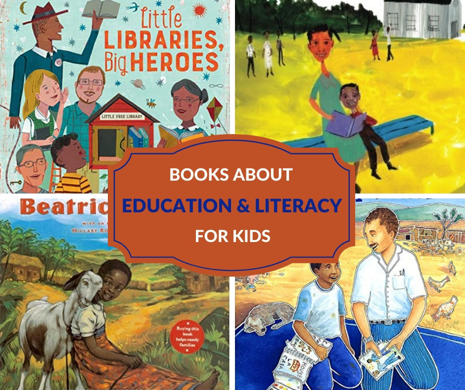 education and literacy books for children