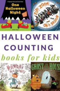 counting Halloween books