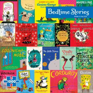 different children's books puzzle