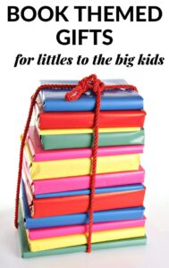 book themed gifts to give to kids and book lovers