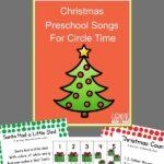 Christmas songs for preschoolers