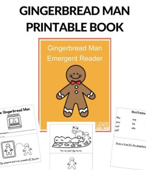 pages from the gingerbread man printable book