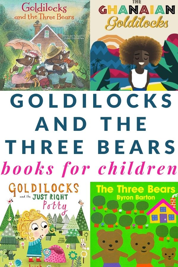 Goldilocks books and variations for kids