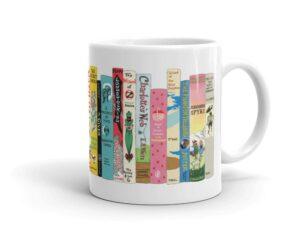 mug with children's books