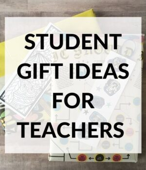 present ideas for students from teachers