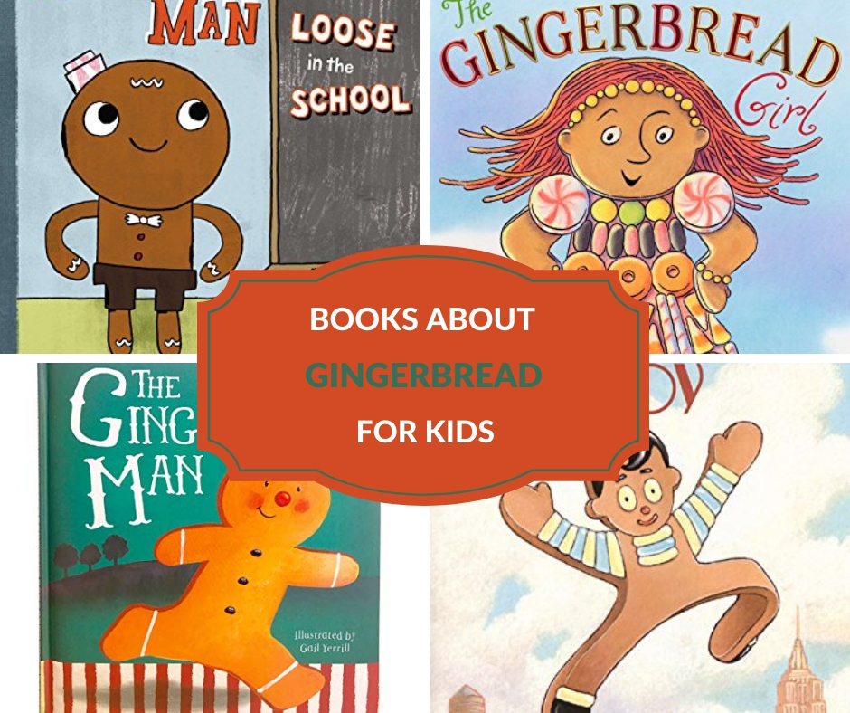 kids books about gingerbread