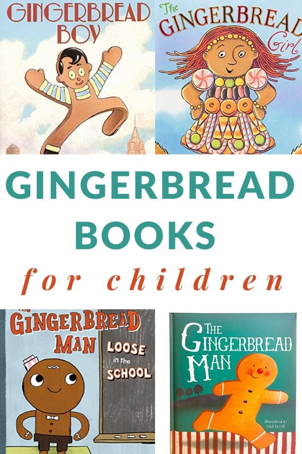 Books about The Gingerbread Man and variations of the story